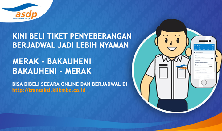 Booking Tiket ASDP Ferry Indonesia!